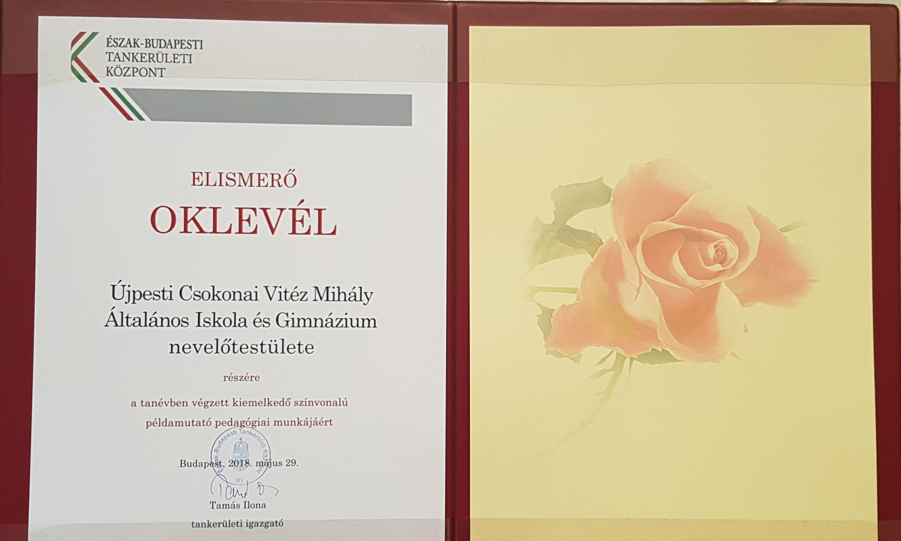 228ac9e6fb Újpesti Csokonai Vitéz Mihály Általános Iskola és Gimnázium
